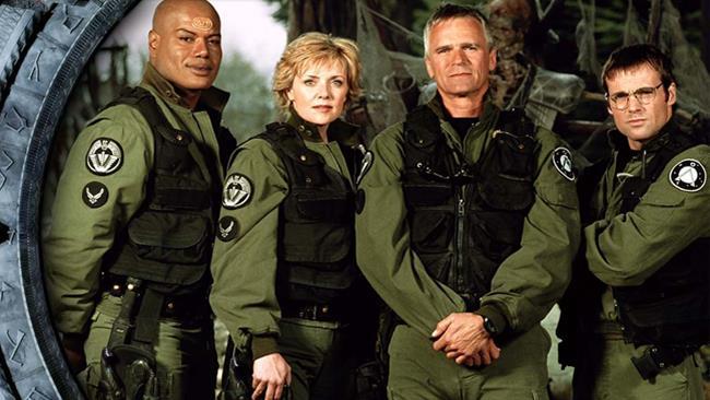 Richard Dean Anderson nella serie Stargate: SG1