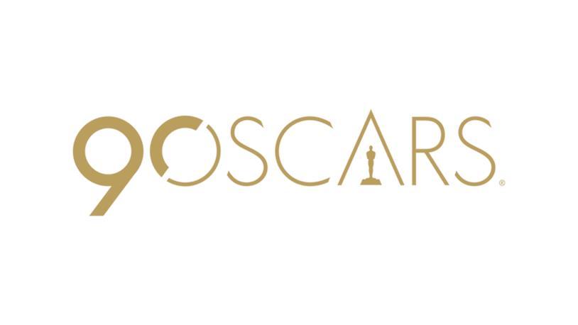 Il logo dell'edizione 90 degli Oscar