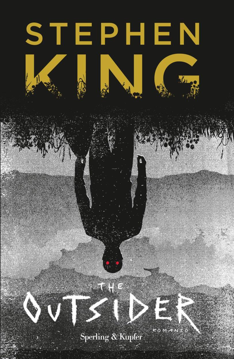 La copertina di The Outsider