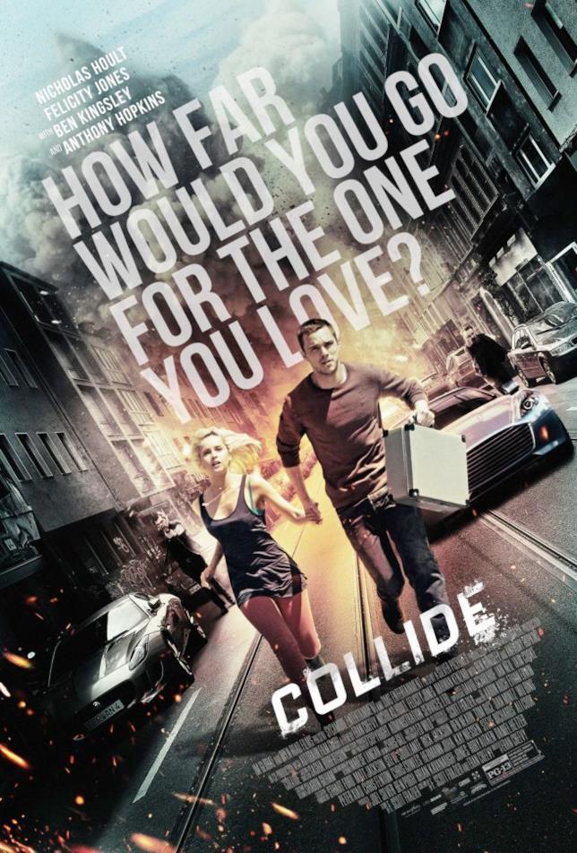 Nicholas Hoult e Felicity Jones sono protagonisti del trailer di Collide