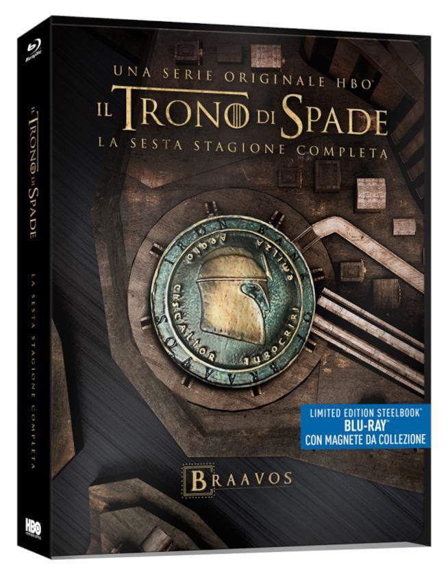 Edizione limitata Steelbook di Game of Thrones 6