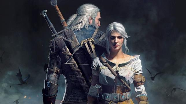 Geralt e Ciri in The Witcher 3