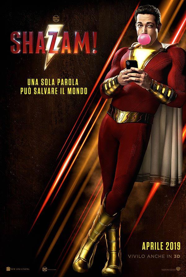 Il teaser poster italiano di Shazam