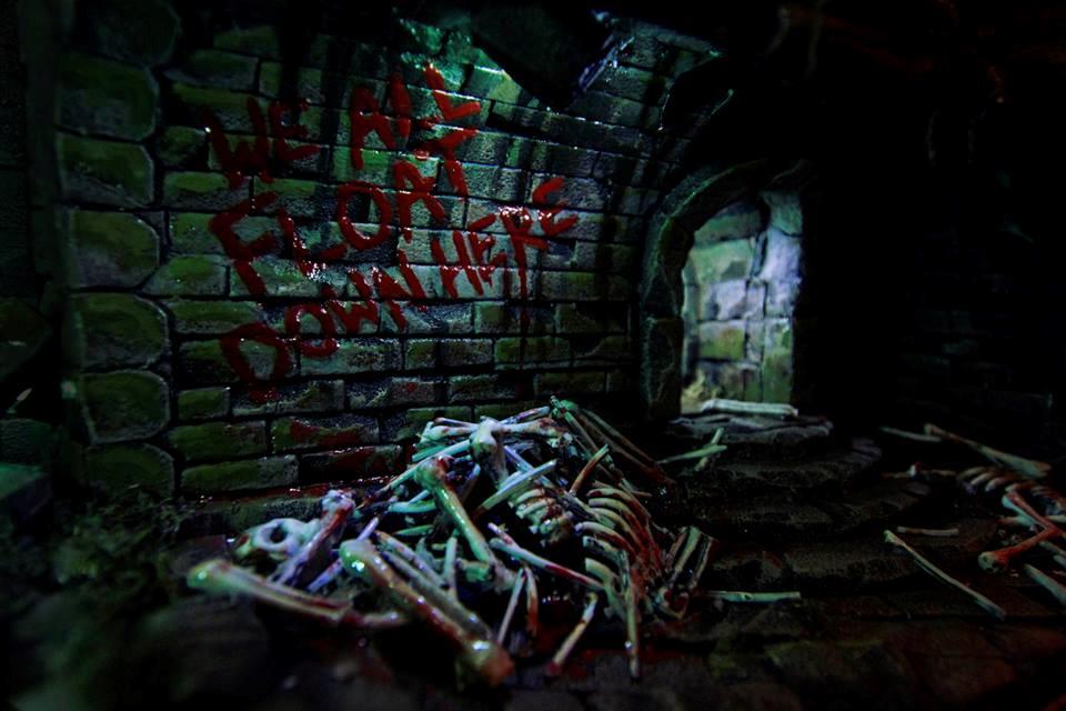 Ventre di Derry, la mitica scritta con il sangue
