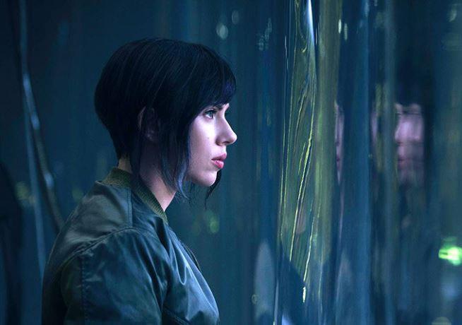 L'attrice americana Scarlett Johansson protagonista del live-action