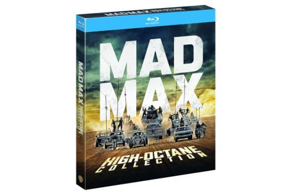 La copertina del blu-ray di Mad Max: High-Octane Collection