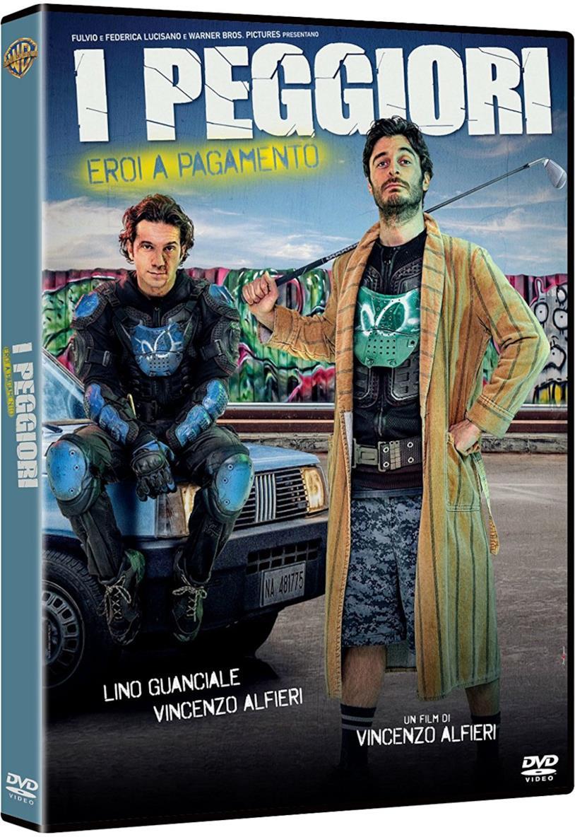 L'edizione DVD de I Peggiori