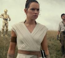 Daisy Ridley, Oscar Isaac e John Boyega in Star Wars: L'ascesa di Skywalker