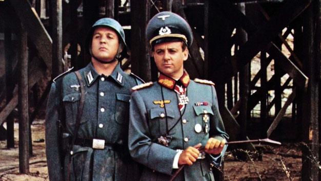 Cochi e Renato in una scena di Sturmtruppen