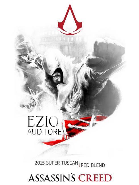 Ezio Auditore, adesso, ha anche il suo vino ufficiale