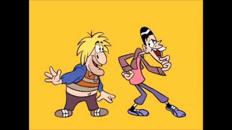 Il cartone animato di Hanna-Barbera di Scemo & più scemo