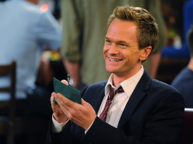 Barney racconta la 3 Day Rule ai suoi 4 amici