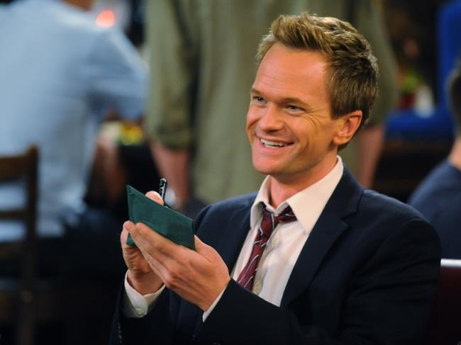 L'attore Neil Patrick Harris nei panni di Barney