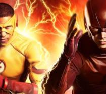 Flash e Kid Flash nel poster della terza stagione dello show