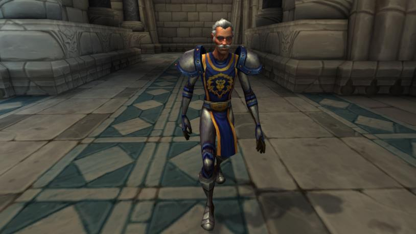 Stan Lee in un cammeo in World of Warcraft