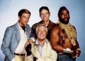 Il cast della serie TV A-Team