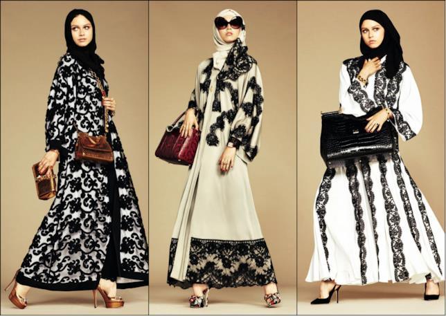 Gli abiti disegnati da Dolce & Gabbana per le donne musulmane
