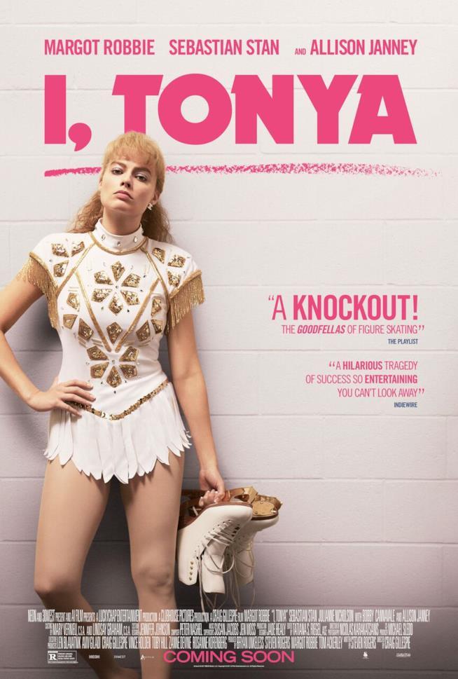 Il poster ufficiale di I, Tonya