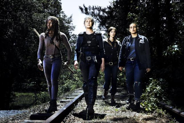 TWD 8: Michonne, Carol, Maggie e Tara