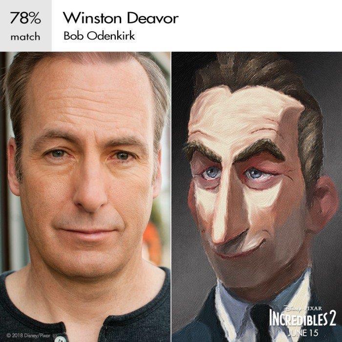 Bob Odenkirk di Better Call Saul è la voce di Winston Deavor