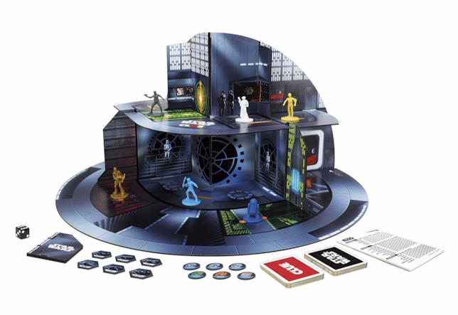 I contenuti del Cluedo 3D di Star Wars