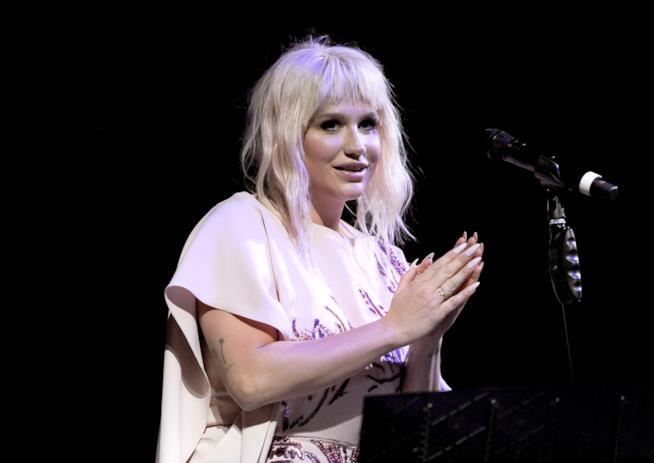 Primo piano di Kesha