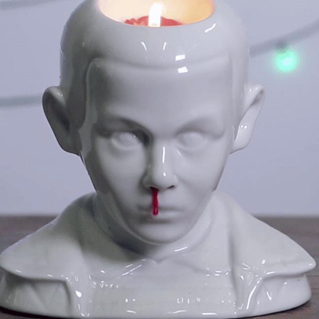 L'effetto del sangue dopo l'accensione della candela