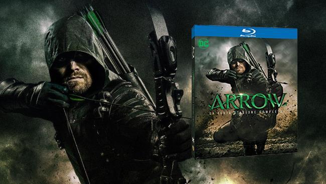 La sesta stagione di Arrow in Blu-ray