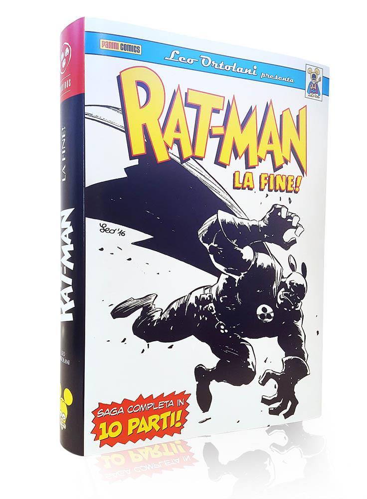 Il volume cartonato contenente la saga integrale de La Fine di Rat-Man
