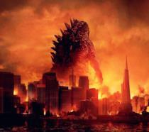 Il poster di Godzilla, il reboot del 2014 firmato Gareth Edwards