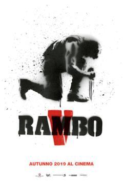 Il teaser poster italiano di Rambo 5