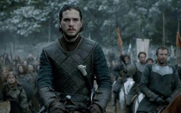 Jon Snow in GoT