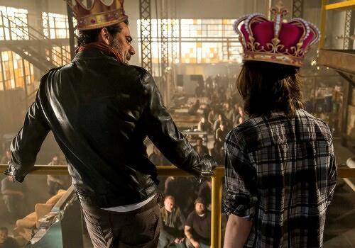 Negan e Carl - King of Saviors