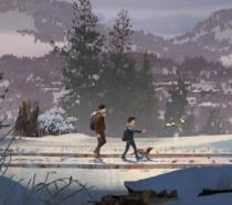 Un ispirato artwork natalizio per Life is Strange 2