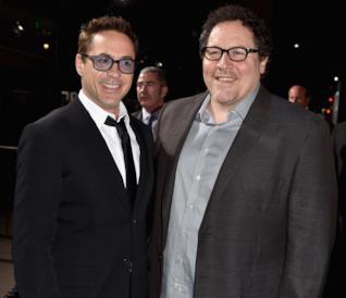 Robert Downey Jr. e Jon Favreau