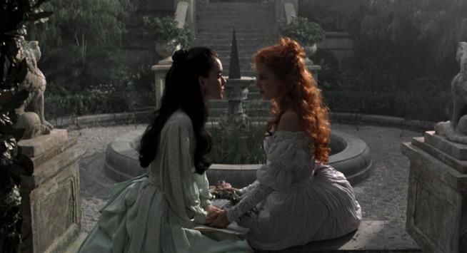 Una scena del film Dracula di Bram Stoker