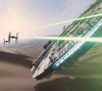 Il Millennium Falcon in Star Wars: Il Risveglio della Forza