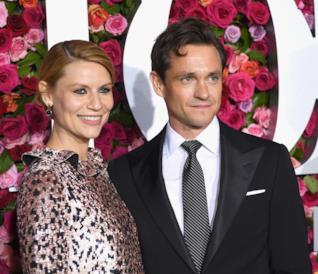 Claire Danes con il marito Hugh Dancy