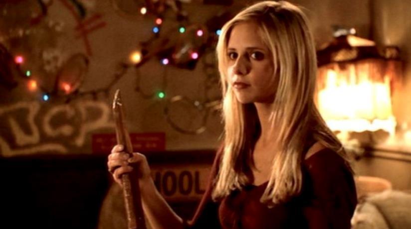 Una scena di Buffy