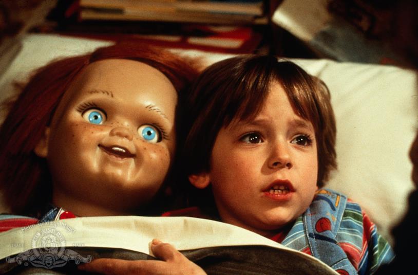 Il piccolo Andy con Chucky