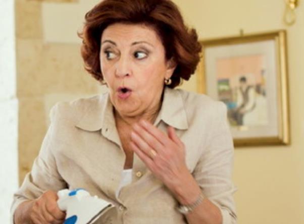 Ludovica Modugno in una scena di Quo vado?
