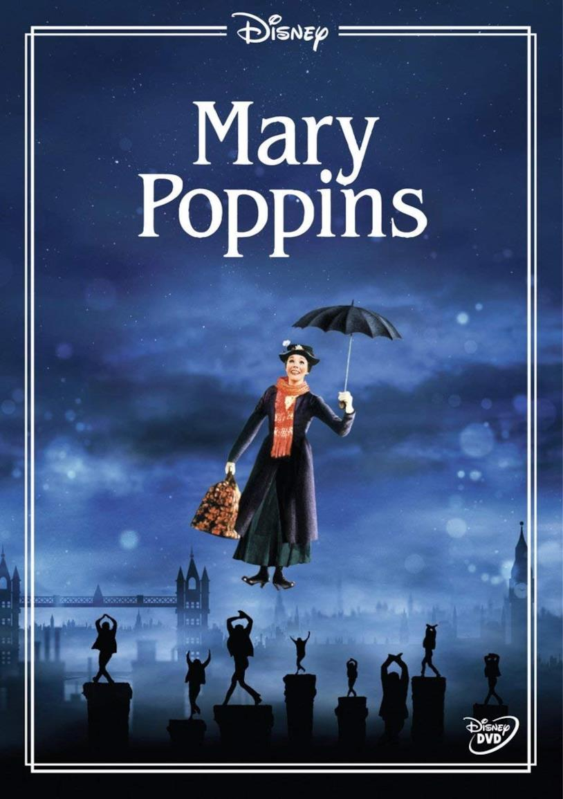 Julie Andrews come Mary Poppins