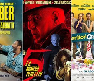I poster di Stuber - Autista d'assalto, 5 è il numero perfetto, Genitori quasi perfetti