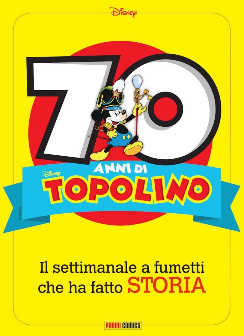 Cover del 70esimo di Topolino