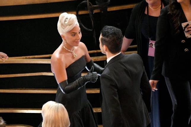 Lady Gaga e Rami Malek