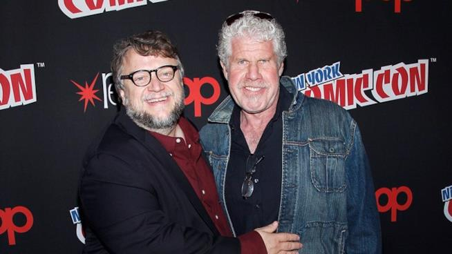 Ron Perlman e Guillermo del Toro al New York Comic Con