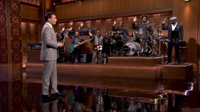 The Roots e Jimmy Fallon al The Tonight Show