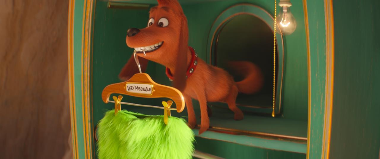 Max, il cane del Grinch