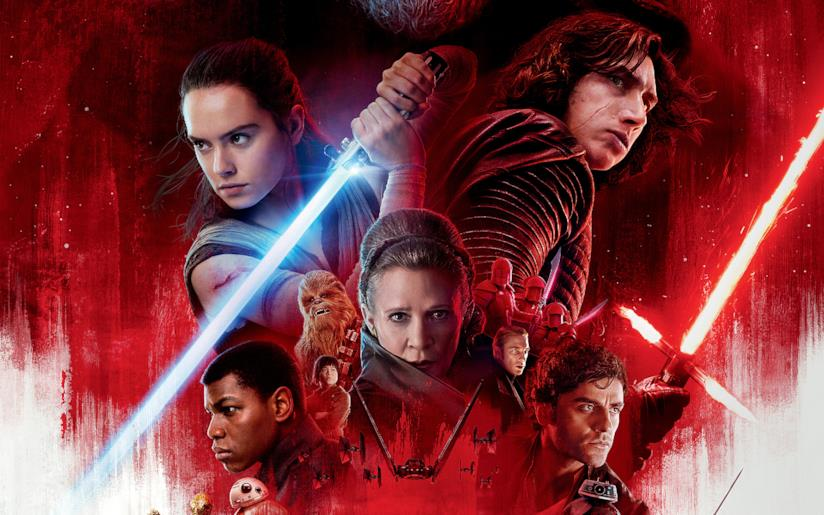 Gli Ultimi Jedi, promo art