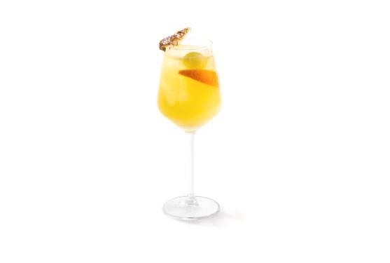 Il cocktail Zammut Cobbler